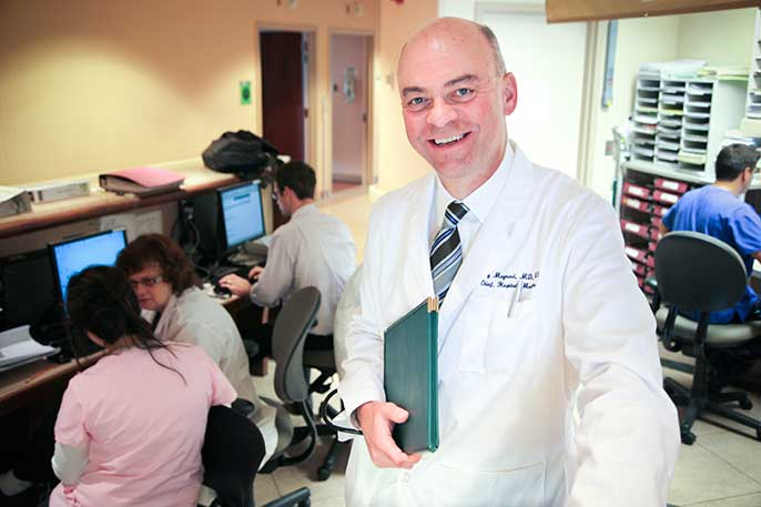 UC Davis Medical Center Chief Quality Officer Gregory Maynard led a project that has reduced blood clots at UC medical centers by 24 percent.