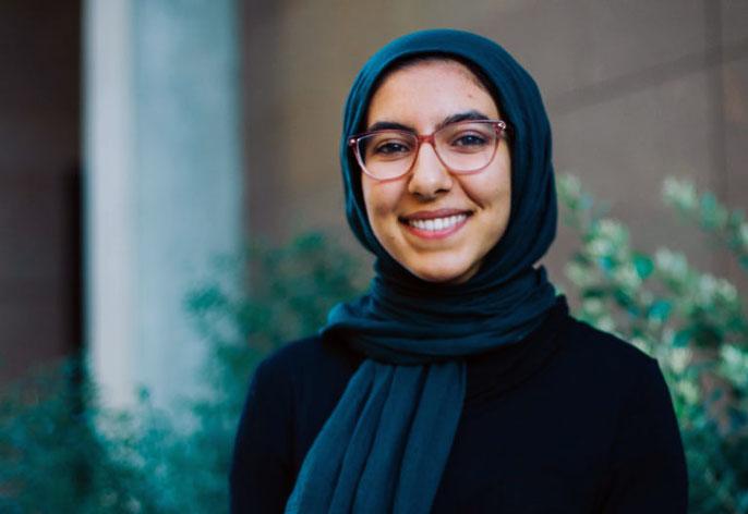 UC Irvine junior Neda Ibrahim