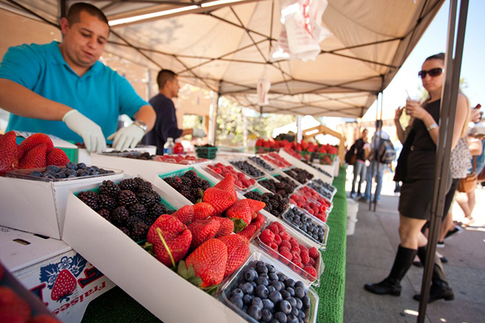 As part of its commitment to fighting hunger, UC Irvine will supplement its year-old food pantry stocked with nonperishable goods for students in need with free, monthly farmers markets that allow access to fresh produce.