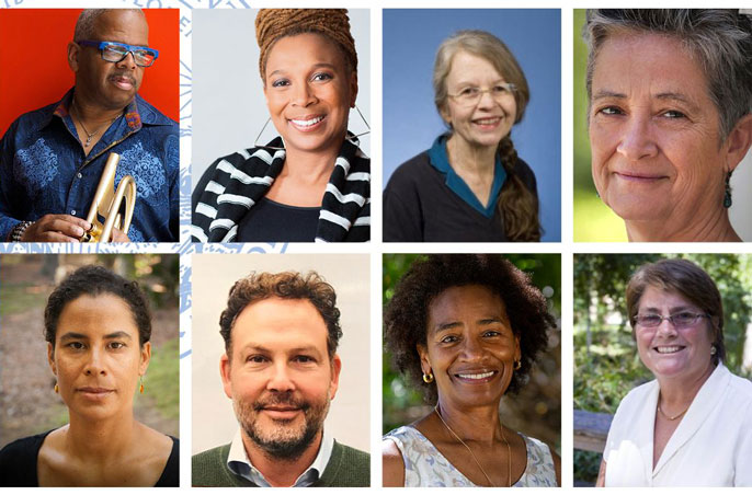 Photo collage of UCLA's 2021 class elected to the American Academy of Arts & Sciences