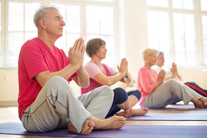 UCLA yoga seniors pre-Alzheimer's