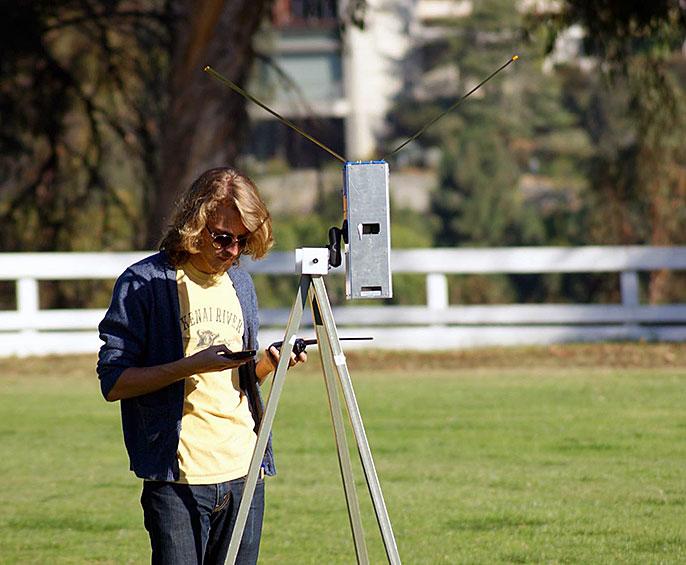 ELFIN satellite radio test