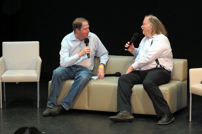 Mark Gold and Jonathan Gold