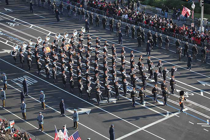 U.S. Army marching band