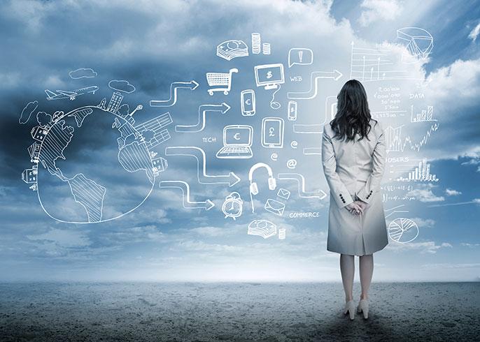 Women in computing photo illustration (iStock)