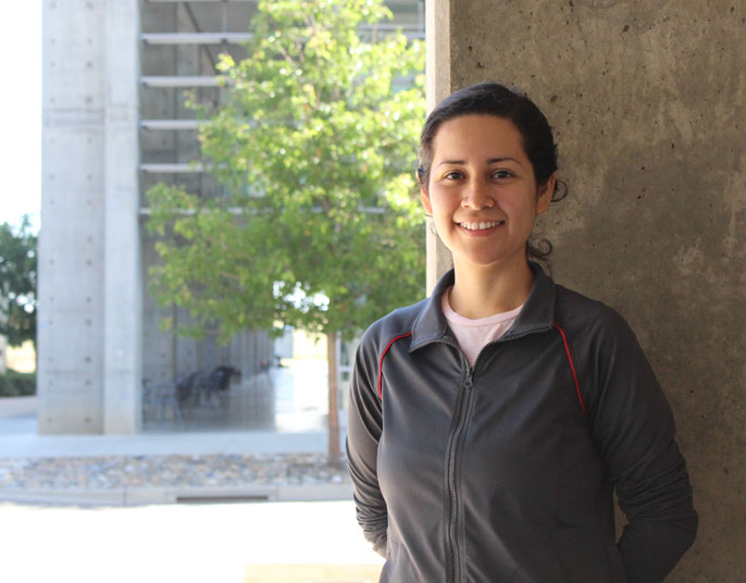 UC Merced's Yuriana Aguilar