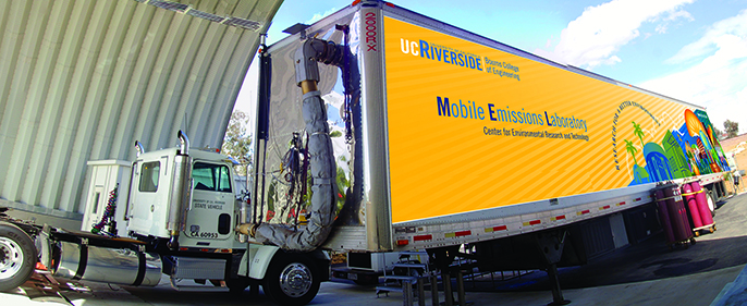 UC Riverside's Center for Environmental Research and Technology (CE-CERT) is part of a new University Transportation Center (UTC) that will bring together experts in transportation emissions and public health.