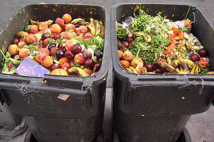 You won't see waste like this around UCR. Multiple programs have significantly reduced food waste on campus, through recycling programs and raising awareness with speakers such as journalist and author Jonathan Bloom on Feb. 16 and 17.