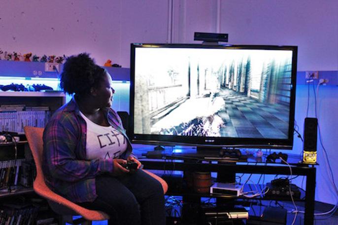 Briana Sidney is pursuing game design at UC Santa Cruz