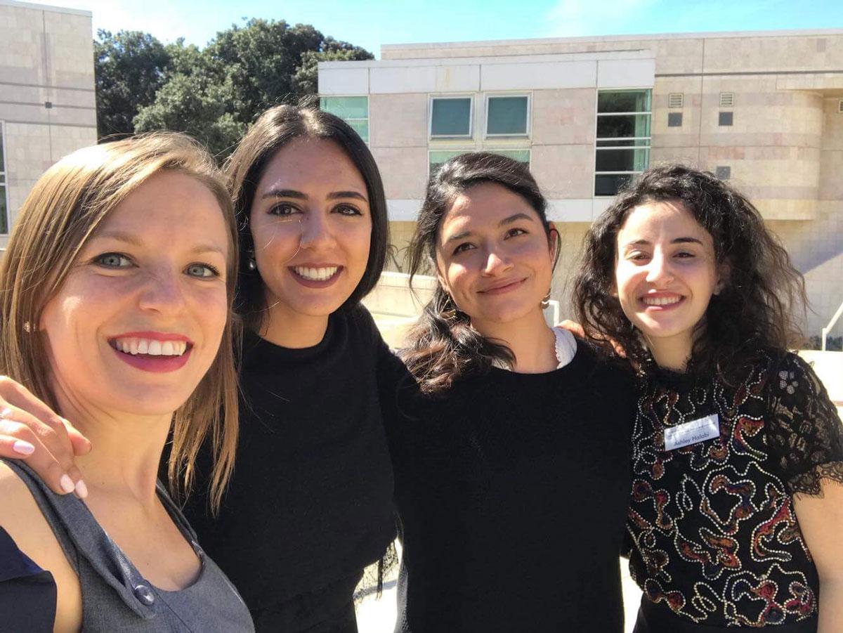 UC San Diego anti-human trafficking team