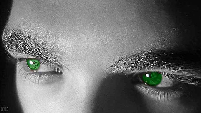 green eyes of envy