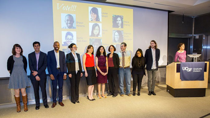 UCSF Grad Slam finalists