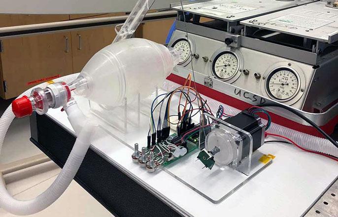 3-D printed ventilator