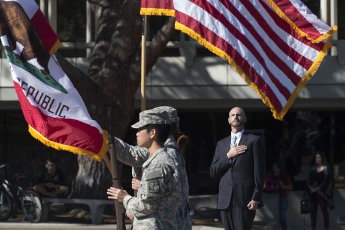 UC Irvine veterans