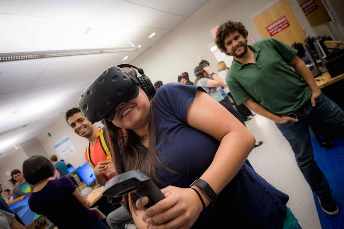 UC San Diego virtual reality lab