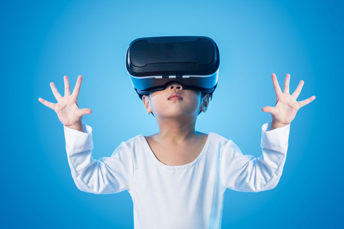 UCLA virtual reality memory