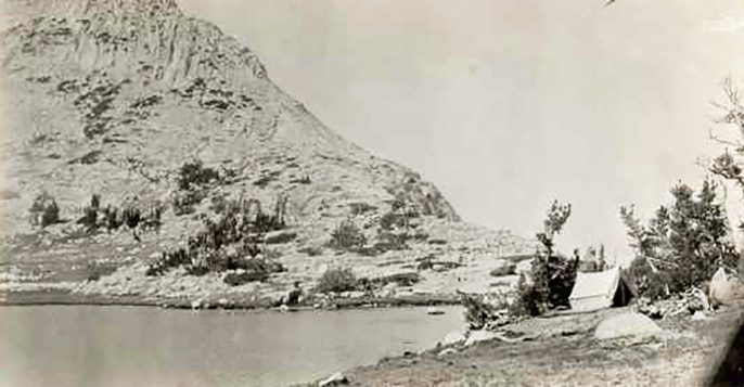 Vogelsang Lake, 1915