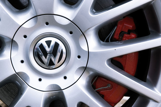 VW wheel UC San Diego