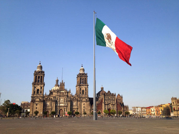 Zocalo Square Mexico City